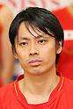Shintaro Ikeda (JPN), .June 9, 2012 - Badminton : .Badminton Japan National Team Send-off Ceremony for the London Olympics 2012 .in Tokyo, Japan. .(Photo by Daiju Kitamura/AFLO SPORT) [1045]