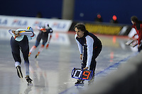 SPEED SKATING: CALGARY: Olympic Oval, 08-03-2015, ISU World Championships Allround, Bart Veldkamp (coach Team Stressless), ©foto Martin de Jong