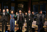 Brandon J. Dirden, Carra Patterson, Andre Holland, Michael Potts, Harvy Blanks during August Wilson's 'Jitney' Broadway opening night curtain call at Samuel J. Friedman Theatre on January 19, 2017 in New York City.
