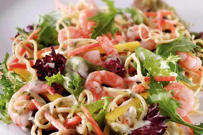 prawn salad food photos