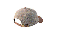 Studio packshot of the Glencairn Harris Tweed Baseball Cap