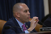 United States Representative Hakeem Jeffries (Democrat of New York) speaks during the United States House Committee on the Judiciary hearing with constitutional law experts Noah Feldman, of Harvard University, Pamela Karlan, of Stanford University, Michael Gerhardt, of the University of North Carolina, and Jonathan Turley of The George Washington University Law School on Capitol Hill in Washington D.C., U.S. on Wednesday, December 4, 2019.<br /> <br /> Credit: Stefani Reynolds / CNP