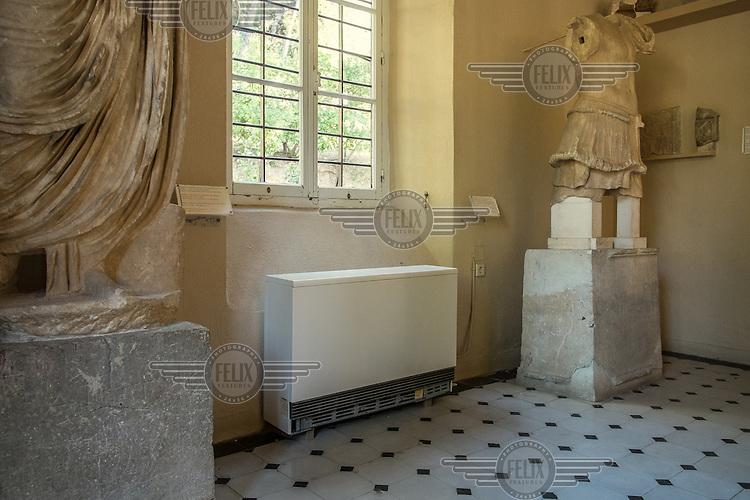 LYGOURIO, GREECE: Archaeological Museum at the Epidaurus Theatre.