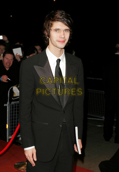 BEN WHISHAW.The Orange British Academy Film Awards (BAFTA's) aftershow, The Grosvenor House Hotel, London, UK..February 11th, 2007.half length black suit jacket .CAP/AH.©Adam Houghton/Capital Pictures