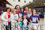 Ciara Bisby, Sean Moriarty, Anne O'Shea, Dick Henggeler (Main sponsor off the BBQ in Scott Street), Aishling Bisby, Sinead O'Shea, Doirean Dwyer, Tadgh Moriarty, Maura Fitzgerald, Eabha Dwyer enjoying Lip Lickin' BBQ in Scotts Street in Aid of the Kerry Cork Cancer Link Bus. This is a first stop in Killarney 4th of July Celebrations. Photo by Marek Hajdasz www.mhphotos.ie