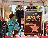 Gina Lollobrigida, Roberto Stabile &amp; Antonio Verde at the Hollywood Walk of Fame Star Ceremony honoring actress Gina Lollobrigida, Los Angeles, USA 01 Feb. 2018<br /> Picture: Paul Smith/Featureflash/SilverHub 0208 004 5359 sales@silverhubmedia.com