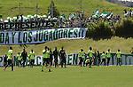 Entrenamiento de Atlético Nacional previo a la final de la Copa Libertadores 2016, ante Independiente del Valle, de Ecuador.