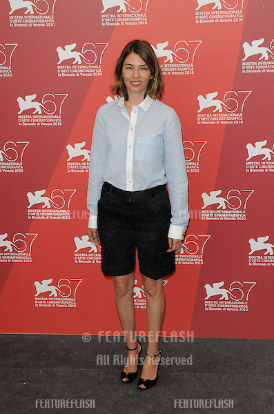 Sofia Coppola at the Somewhere photocall during the 67th annual Venice Film Festival..September 3, 2010  Venice, IT.Picture: Anne-Marie Michel / Featureflash