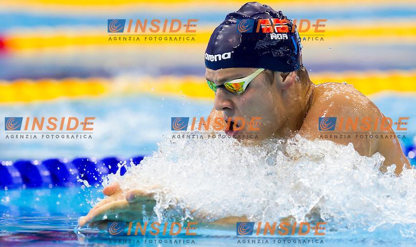 BRATHEN Joergen NOR<br /> London, Queen Elizabeth II Olympic Park Pool <br /> LEN 2016 European Aquatics Elite Championships <br /> Swimming<br /> Men's 200m breaststroke preliminary  <br /> Day 10 18-05-2016<br /> Photo Giorgio Perottino/Deepbluemedia/Insidefoto