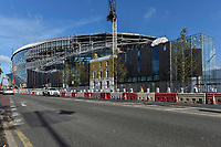 Club shop at the Tottenham Hotspur Stadium work in progress at  High Road (White Hart Lane), London, England on 18 October 2018. Photo by Vince  Mignott.