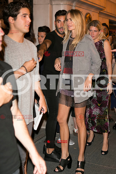 Veronica Blume attends the party of Nike and Roberto Tisci at the Casino in Madrid, Spain. September 15, 2014. (ALTERPHOTOS/Carlos Dafonte) /NortePhoto.com