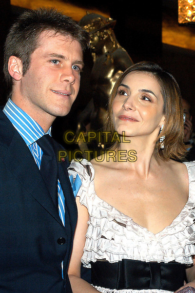 PRINCE EMANUELE FILIBERTO DI SVOIA & WIFE CLOTILDE CUREAU.David di Donatello Awards 2005.Rome, Italy, April 29th 2005..portrait headshot royal.Ref: OME.www.capitalpictures.com.sales@capitalpictures.com.©Omega/Capital Pictures.