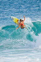 February 18th 2010.  Coco Ho (HAW)  Free surfing at Snapper Rocks, Coolangatta, Queensland, Australia.Photo: Joliphotos.com