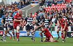 Michael Paterson of Sale Sharks - European Rugby Champions Cup - Sale Sharks vs Munster -  AJ Bell Stadium - Salford- England - 18th October 2014  - Picture Simon Bellis/Sportimage