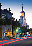 Charleston, South Carolina, Broad Street, Saint Michael's Episcopal Church, Oldest In Charleston, National Historic Landmark, Colonial America