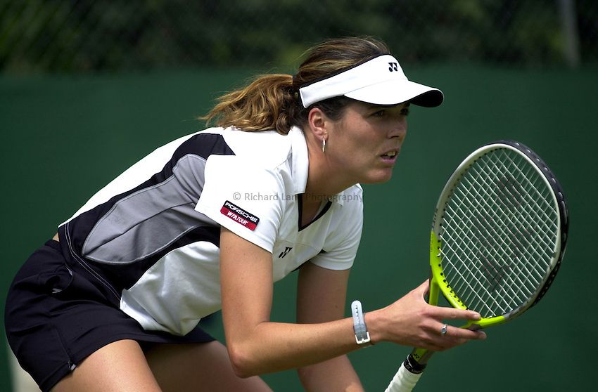 Photo: Richard Lane..DFS Classic Women's International Tennis at Edgebaston. 09/06/2003..Vanessa Webb