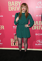 """LOS ANGELES, CA June 14- Natasha Lyonne, At Premiere Of Sony Pictures' """"Baby Driver"""" at The Ace Hotel, California on June 143, 2017. Credit: Faye Sadou/MediaPunch"""
