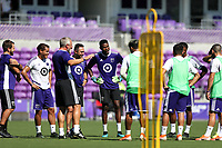 Orlando, Florida - Tuesday July 30, 2019: MLS All-Stars Training was held at Exploria Stadium as preparations for the MLS All-Star Game.
