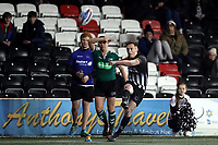 Picture by Paul Greenwood/SWpix.com - 27/04/2018 - Rugby League - Betfred Super League - Widnes Vikings v Wigan Warriors - Select Security Stadium, Widnes, England - Tom Gilmore of Widnes Vikings misses a try conversion which would have levelled the score