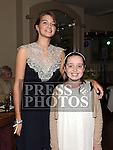 Emily Flanagan celebrating her 21st birthday in The Thatch with cousin Rachel Downey. Photo:Colin Bell/pressphotos.ie