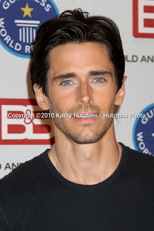 "Brandon Beemer.Guinness World Records®  presents THE BOLD AND THE BEAUTIFUL with the certification as the  ""Most Popular Daytime TV Soap - Current..Bold & Beautiful Set, Stage 31, CBS Televsion CIty.Los Angeles, CA.May 18, 2010.©2010 Kathy Hutchins / Hutchins Photo.."