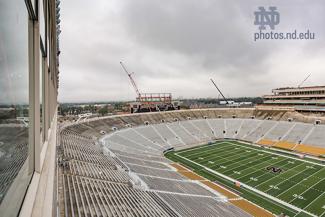 June 23, 2016; View from premium seating level, Corbett Family Hall (Photo by Matt Cashore/University of Notre Dame)