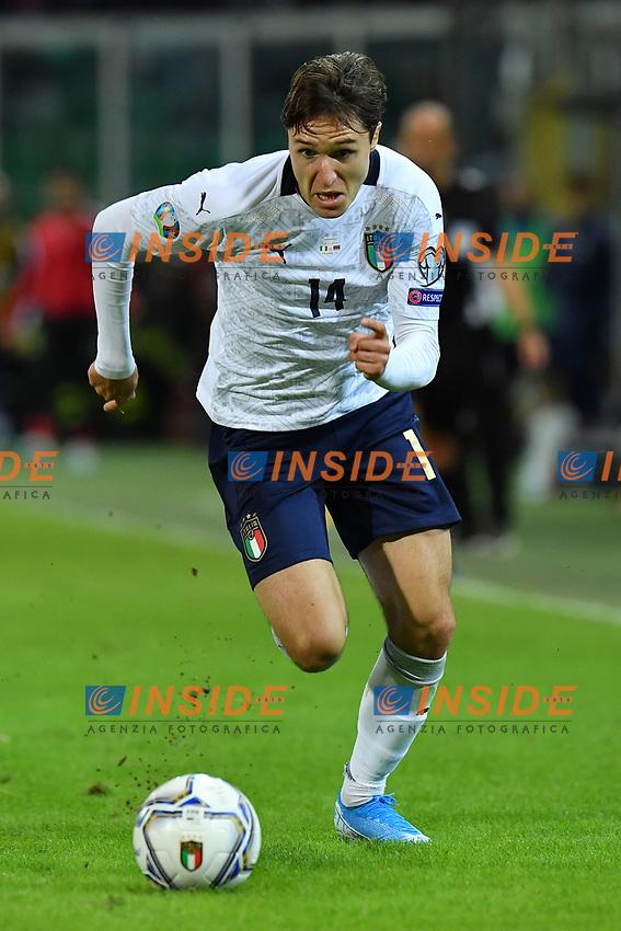 Italy's Federico Chiesa <br /> Palermo 18-11-2019 Stadio Renzo Barbera <br /> UEFA European Championship 2020 qualifier group J <br /> Italy - Armenia <br /> Photo Carmelo Imbesi / Insidefoto