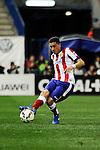 Atletico de Madrid´s Gimenez during 2014-15 La Liga match between Atletico de Madrid and Valencia CF at Vicente Calderon stadium in Madrid, Spain. March 08, 2015. (ALTERPHOTOS/Luis Fernandez)