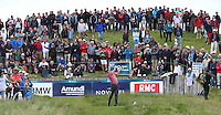 Rafa Cabrera-Bello (ESP) drives down the 17th during Round Two of the 100th Open de France, played at Le Golf National, Guyancourt, Paris, France. 01/07/2016. Picture: David Lloyd | Golffile.<br /> <br /> All photos usage must carry mandatory copyright credit (&copy; Golffile | David Lloyd)