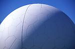 AMHK88 The Golf Ball RAF radar installation Mundesley Trimingham Norfolk England