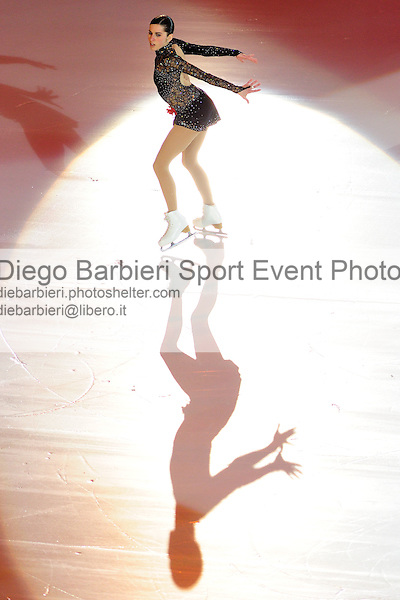2012.01.01 Valentina Marchei exhibits at Capodanno on Ice, ice figure skating gala at Palavela in Turin, Italy<br /> <br /> Editorial use only