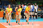Volunteers,<br /> AUGUST 6, 2016 - Volleyball : <br /> Women's Preliminary Pool A<br /> between Japan 1-3 South Korea<br /> at Maracanazinho <br /> during the Rio 2016 Olympic Games in Rio de Janeiro, Brazil. <br /> (Photo by Koji Aoki/AFLO SPORT)