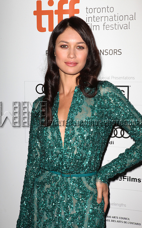 Olga Kurylenko attending the The 2012 Toronto International Film Festival.Red Carpet Arrivals for 'To The Wonder' at the Princess of Wales Theatre in Toronto on 9/10/2012