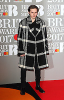 Brooklyn Beckham at The BRIT Awards 2017 at The O2, Peninsula Square, London on February 22nd 2017<br /> CAP/ROS<br /> &copy; Steve Ross/Capital Pictures /MediaPunch ***NORTH AND SOUTH AMERICAS ONLY***