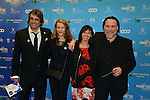 &copy;www.agencepeps.be/ F.Andrieu - Belgique -Bruxelles - 140201 - Les Magrittes du cin&eacute;ma ont r&eacute;compens&eacute; comme chaque ann&eacute;e les professionnels du cin&eacute;ma belge. Belgium cin&eacute; awards the &quot;Magritte of the cinema&quot;<br /> Pics: Benoit Mariage et son &eacute;pouse ainsi que Bouli Lanners et son &eacute;pouse