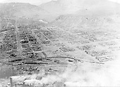 Durango from Smelter Mountain looking north.  View lined up with Main Ave.<br /> D&amp;RG  Durango, CO  ca 1930