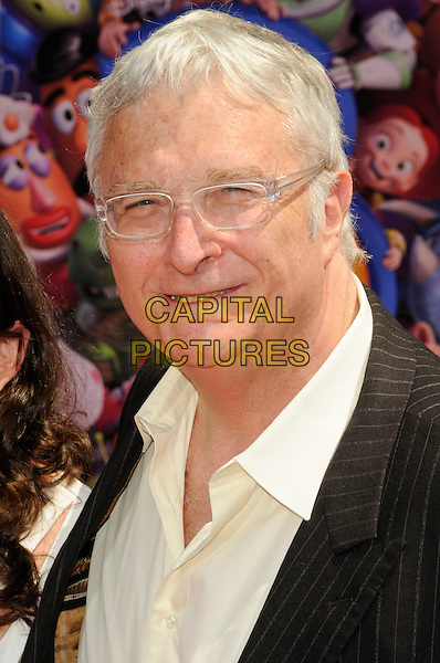 """RANDY NEWMAN .at the world premiere of World Premiere of Disney Pixar's """"Toy Story 3"""" at El Capitan Theatre in Hollywood, California, USA, June 13th, 2010. .portrait headshot glasses yellow shirt .CAP/ROT.©Lee Roth/Capital Pictures"""
