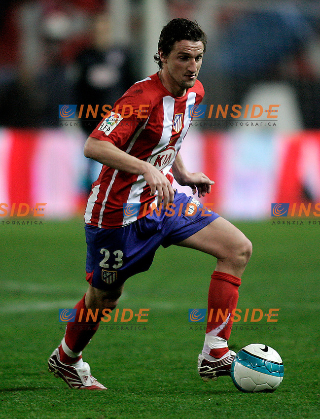 Atletico de Madrid's Miguel Angel Ferrer Mista during  the Spanish League match between Atletico de Madrid and Real Madrid at Vicente Calderon Stadium in Madrid, Saturday February 24 2007. (INSIDE/ALTERPHOTOS/B.echavarri).