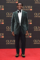 Kobna Holdbrook-Smith<br /> arriving for the Olivier Awards 2019 at the Royal Albert Hall, London<br /> <br /> ©Ash Knotek  D3492  07/04/2019