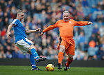 24.3.2018: Rangers legends match:<br /> Craig Moore and Ally McCoist