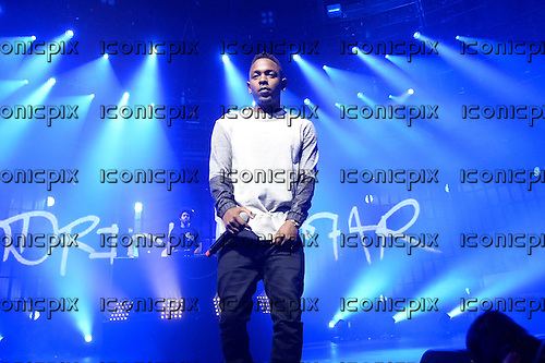 Kendrick Lamar - performing live on Day 19 at the iTunes Festival at The Roundhouse in London UK - 19 Sep 2013.  Photo credit: George Chin/IconicPix