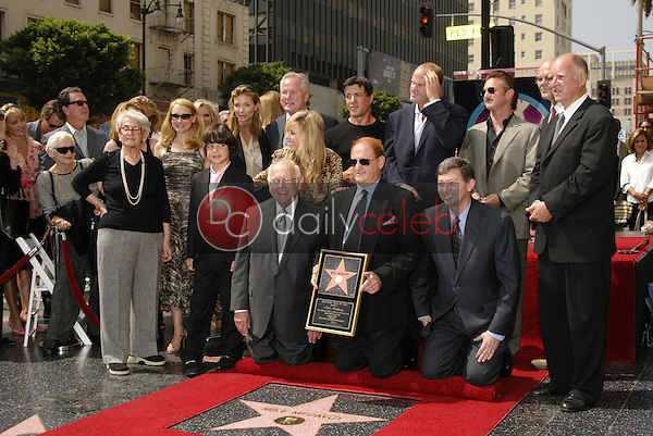 Mike Medavoy with friends and family<br />at the Ceremony Honoring him with a star on the Hollywood Walk of Fame. Hollywood Boulevard, Hollywood, CA. 09-19-05<br />Dave Edwards/DailyCeleb.Com 818-249-4998