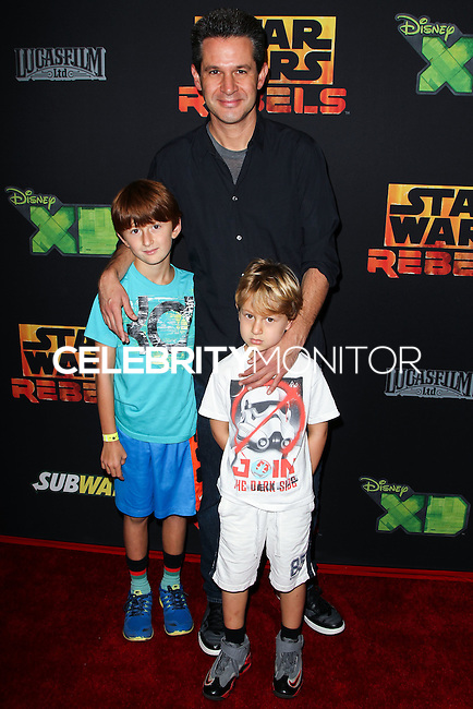 """CENTURY CITY, CA, USA - SEPTEMBER 27: Simon Kinberg arrives at the Los Angeles Screening Of Disney XD's """"Star Wars Rebels: Spark Of Rebellion"""" held at the AMC Century City 15 Theatre on September 27, 2014 in Century City, California, United States. (Photo by Celebrity Monitor)"""