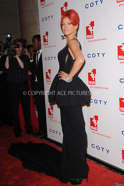 WWW.ACEPIXS.COM . . . . . .April 28, 2011...New York City...Rihanna attends the 5th annual DKMS Gala at Cipriani Wall Street on April 28, 2011 in New York City....Please byline: KRISTIN CALLAHAN - ACEPIXS.COM.. . . . . . ..Ace Pictures, Inc: ..tel: (212) 243 8787 or (646) 769 0430..e-mail: info@acepixs.com..web: http://www.acepixs.com .