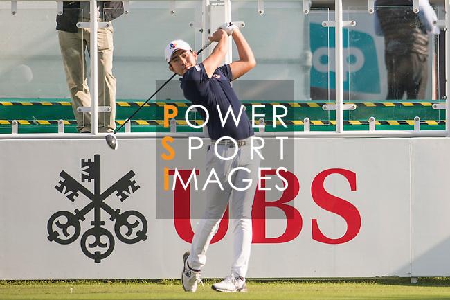 Soomin Lee of Korea tees off the first hole during the 58th UBS Hong Kong Open as part of the European Tour on 08 December 2016, at the Hong Kong Golf Club, Fanling, Hong Kong, China. Photo by Marcio Rodrigo Machado / Power Sport Images
