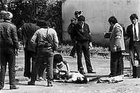 Dos miembros del MIR murieron abatidos por la policv?a en la localidad de Padre Hurtado luego de ir huyendo tras asaltar una sucursal del Banco del Estado en Penaflor.<br /> Padre Hurtado Chile 28 Noviembre 1986.<br /> Forty years ago, on September 11, 1973, a military coup led by General Augusto Pinochet toppled the democratic socialist government of Chile. President Salvador Allende was killed during the  attack to seize  La Moneda presidential palace.  In the aftermath of the coup, a quarter of a million people were detained for their political beliefs, 3000 were killed or disappeared and many thousands were tortured.<br /> Some years later in 1981, while Pinochet ruled Chile with iron fist, a young photographer called Juan Carlos Caceres started to freelance in the streets of Santiago and the poblaciones or poor outskirts, showing the growing resistance against the dictatorship. For the next 10 years Caceres photographed every single protest and social movement fighting for the restoration of democracy. He knew that his camera was his only weapon, he knew that his fate was to register the daily violence and leave his images for the History.<br /> In this days Caceres is working to rescue and organize his collection of images in the project Imagenes de la Resistencia   . With support of some Chilean official institutions, thousands of negatives are digitalized and organized to set up the more complete visual heritage of this  violent period of Chile&acute;s history.<br /> In a time when technology was not very friendly and communications were kind of basic, Juan Carlos Caceres and other photojournalist were always at the right place in the right moment defying the threats of the police. Their work is now  a visual heritage that documents and remind us the fight of Chilean people for democracy.