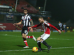 Matt Done of Sheffield Utd during the Checkatrade Trophy match at Blundell Park Stadium, Grimsby. Picture date: November 9th, 2016. Pic Simon Bellis/Sportimage
