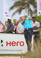 151204 American Jordan Speith during Friday's Second Round of The Hero World Challenge, at The Albany Golf Club in New Providence, Nassau, Bahamas.(photo credit : kenneth e. dennis/kendennisphoto.com)