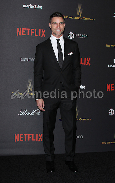 10 January 2016 - Los Angeles, California - Colin Egglesfield. 2016 Weinstein Company & Netflix Golden Gloves After Party held at the Beverly Hilton Hotel. Photo Credit: AdMedia