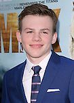 Josh Wiggins attends The Warner Bros. Pictures' L.A. Premiere of MAX held at The Egyptian Theatre  in Hollywood, California on June 23,2015                                                                               © 2015 Hollywood Press Agency